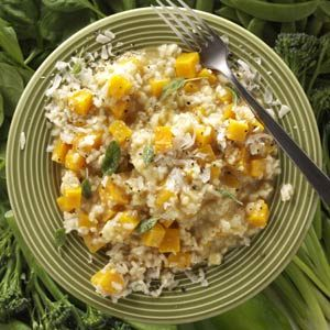 Butternut Squash Risotto Recipe from Taste of Home