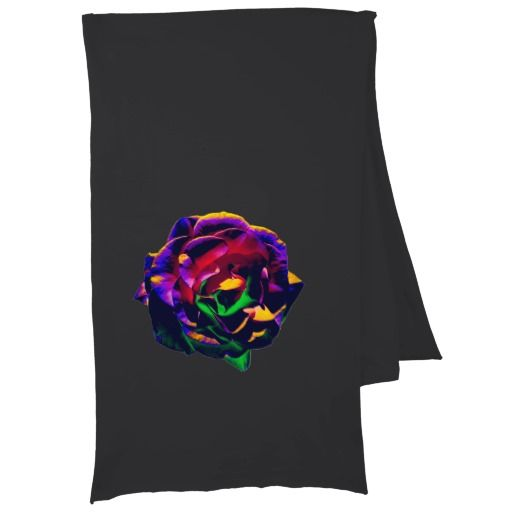 Colorful Rose Scarf Wraps