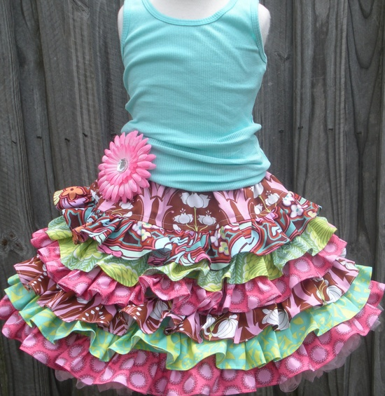 Custom Boutique Amy Butler fabric Soul Blossom by hottotscoolkids2, $53.00