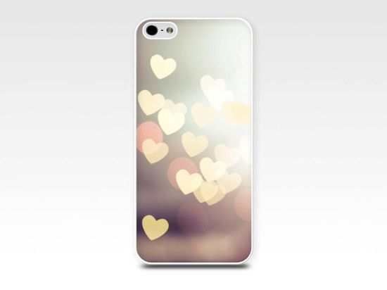 heart iphone case bokeh iphone 5s case iphone 4 by mylittlepixels