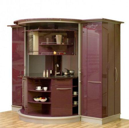 Cupboard Small Kitchen Interior Design Ideas - Kitchen