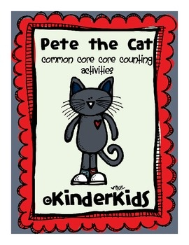 FREE!! Count along with Pete the Cat!  Included are 2 Pete the Cat Puzzles for students to put together by ordering numbers 1-10 and 2 Missing Numbers mat...