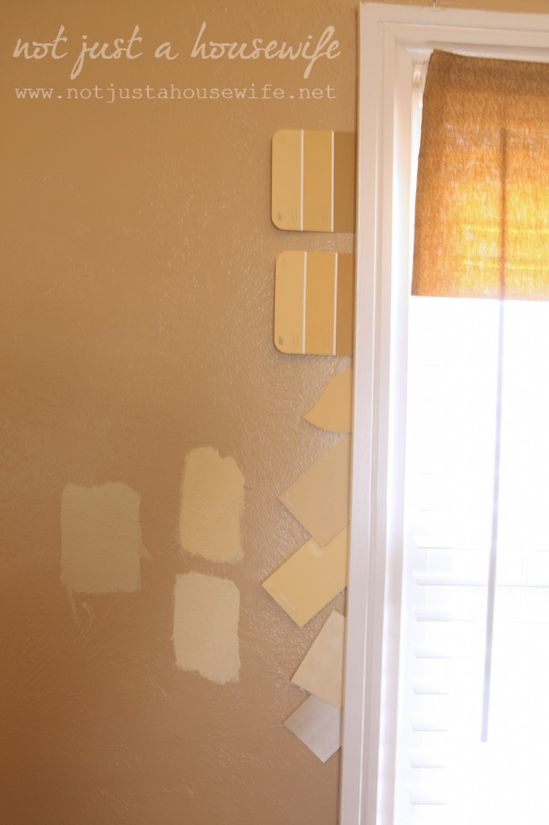 Tips for picking out yellow paint