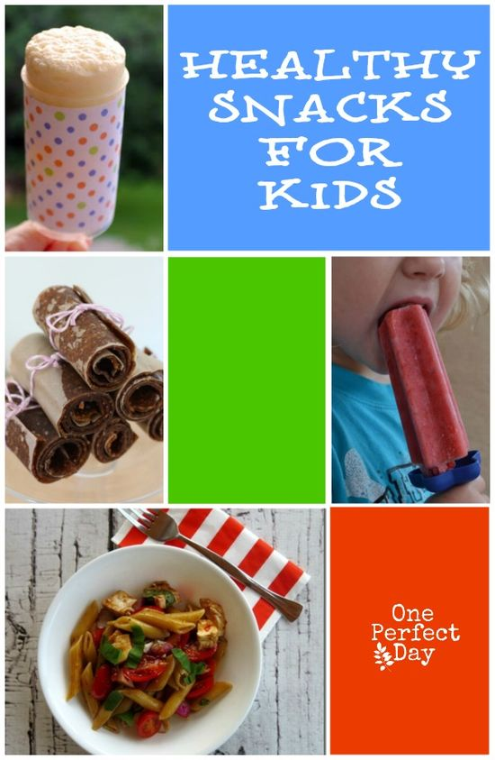 Lots of simple ways to prepare snacks for kids that are both healthy AND delicious. Yes please! I think number 6 will be a huge hit with my kids.