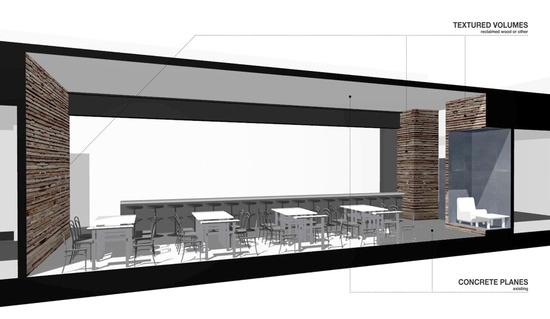Creative Alliance Cafe / PI.KL Studio and Kroiz Architecture -----presentation design