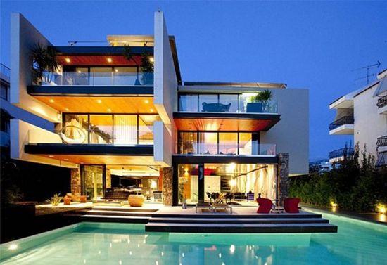 modern villa ideas image