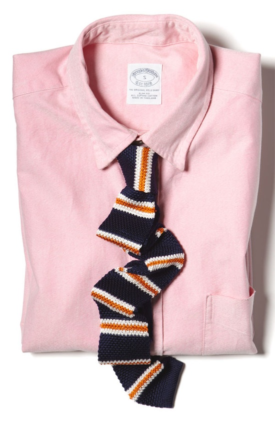 The Tie Bar Knit 'Country Stripe' Knit Tie #Nordstrom #GQSelects #thetiebar