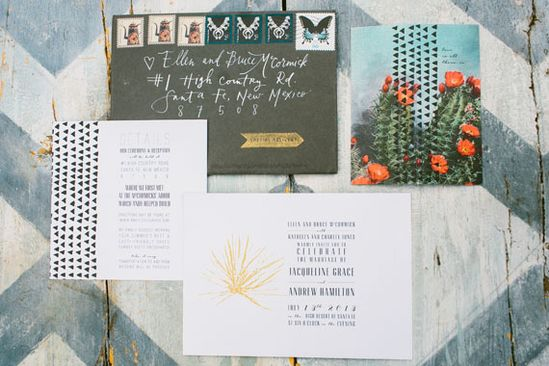 Bohemian New Mexico wedding