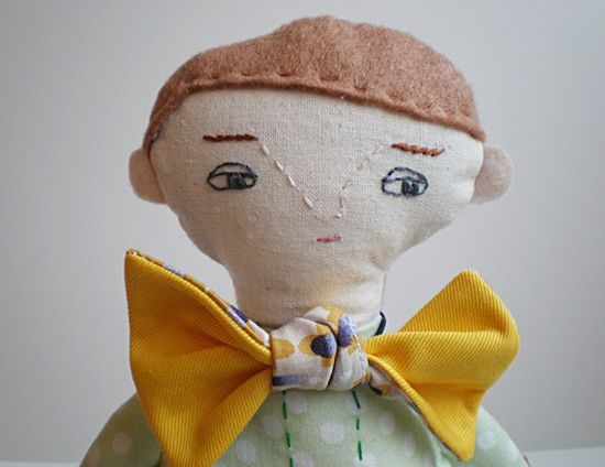 Boy Soft Toy By Handmade Romance