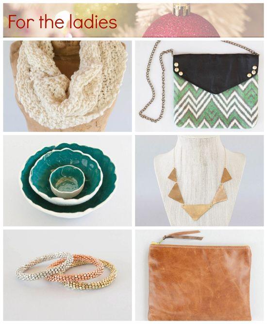 ladies #handmade #gift guide