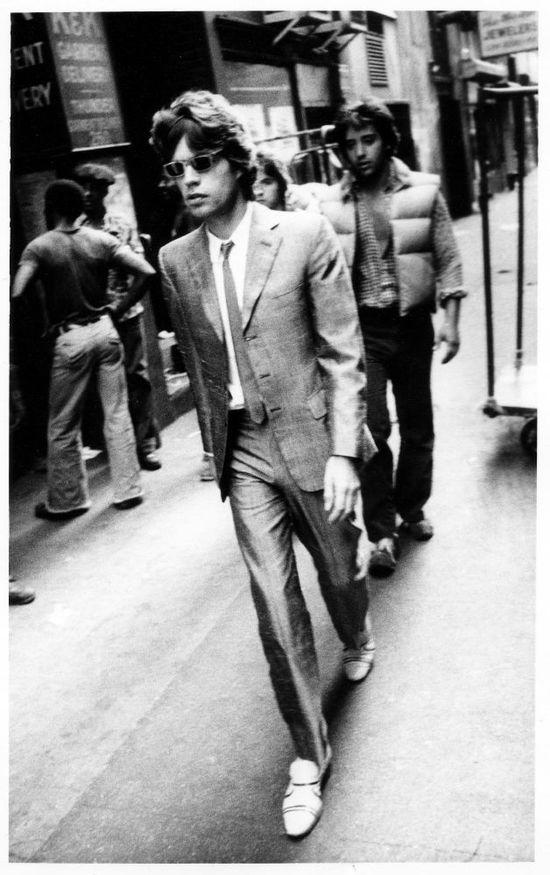 Mick Jagger by Robert Frank