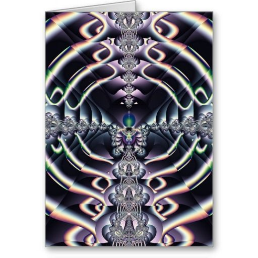 Purple World Greeting Card