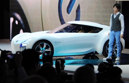#Nissan pure EV sports car concept, 'ESFLOW'