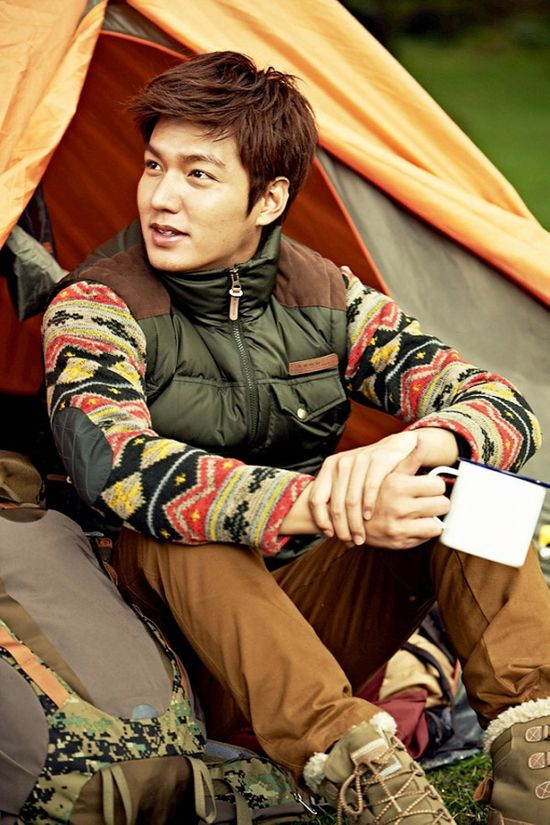 LEE MIN HO'S NEW ZEALAND SHOOT FOR EIDER'S FW 2013 CAMPAIGN