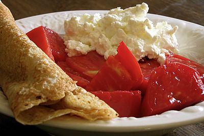 Homemade Goat Milk Cottage Cheese