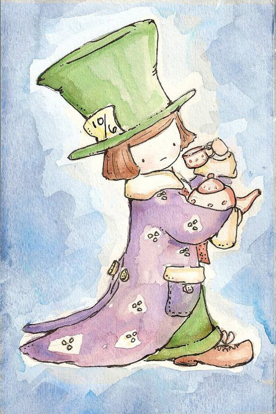 The MAD HATTER. Alice in Wonderland Collection.
