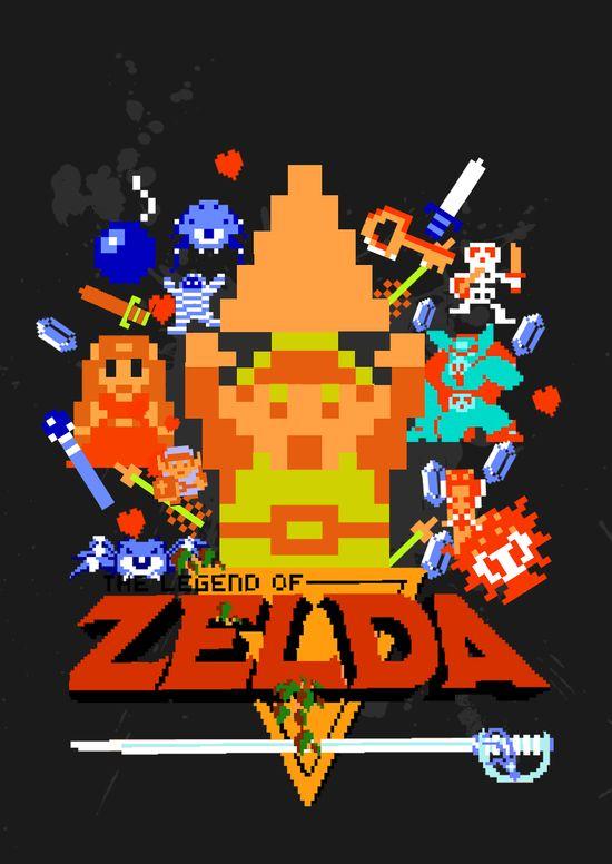 The legend of Zelda !