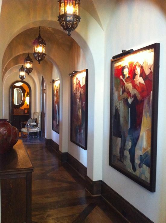 Gallery--floor design