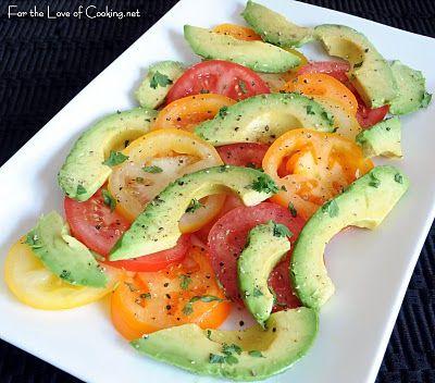 Avocado and Tomato Salad #paleo