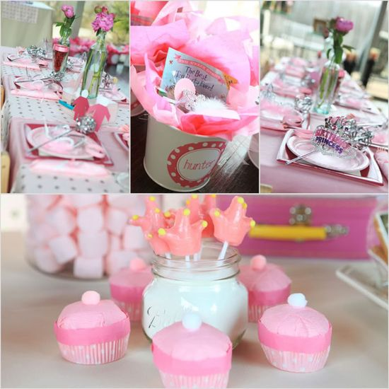 Princess party. See more of it on www.karaspartyide...