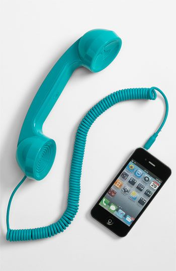 'Pop Phone' Handset. I have a pink one of course!