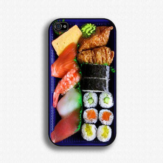 sushi bento iphone case #iPhone #Sushi #Xmas www.trendhunter.com/