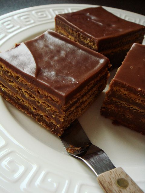 Nutella Pudding Icebox Cake
