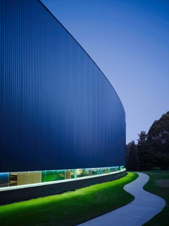 The International Cricket Hall of Fame museum, Bowral, NSW, Australia  by Turner Architects