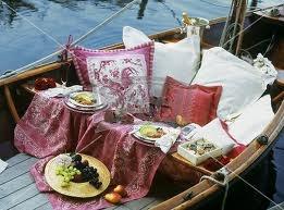 rowboat picnic