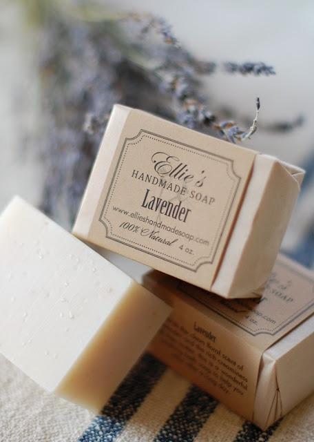 lavender soap #LaundryByDesign