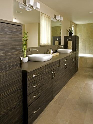 I could rock with this look     Shoreline Modern Master Bath - modern - bathroom - seattle - Dawn Ryan, AKBD/Ryan Interior Design