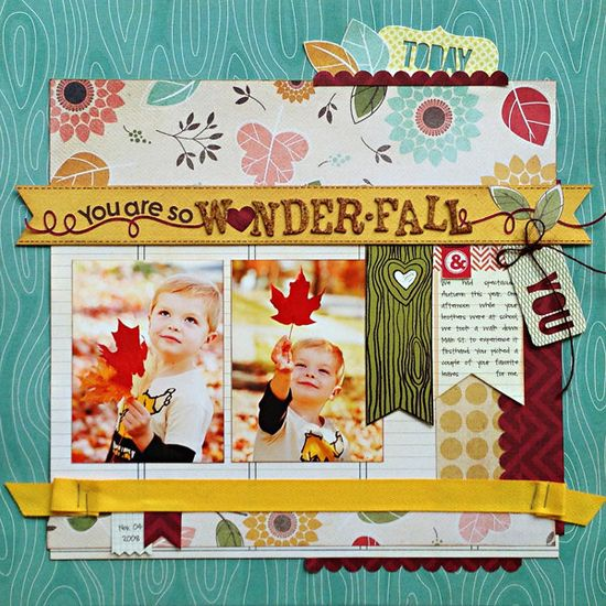 *You are WONDER-FALL*