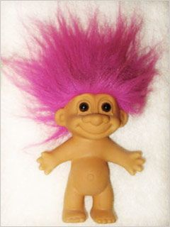troll dolls...miss my troll - she went missing when we moved 3 years ago, allthingsshabby ...