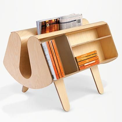"""The very rare """"Isokon Penguin Donkey"""" designed by Egon Riss and produced by Esokon in 1939."""