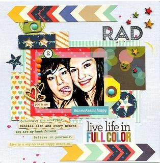 live life in full color by luvscrappin at Studio Calico
