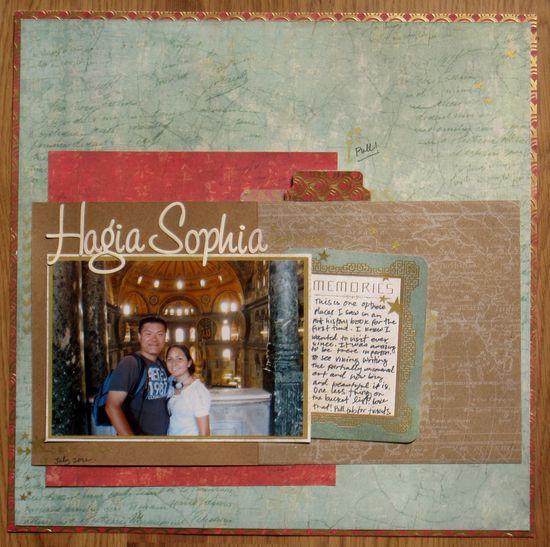 Hagia Sophia by Karla Der - Scrapbook.com