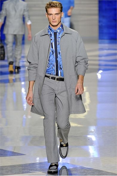 Versace menswear Spring Summer 2012 collection