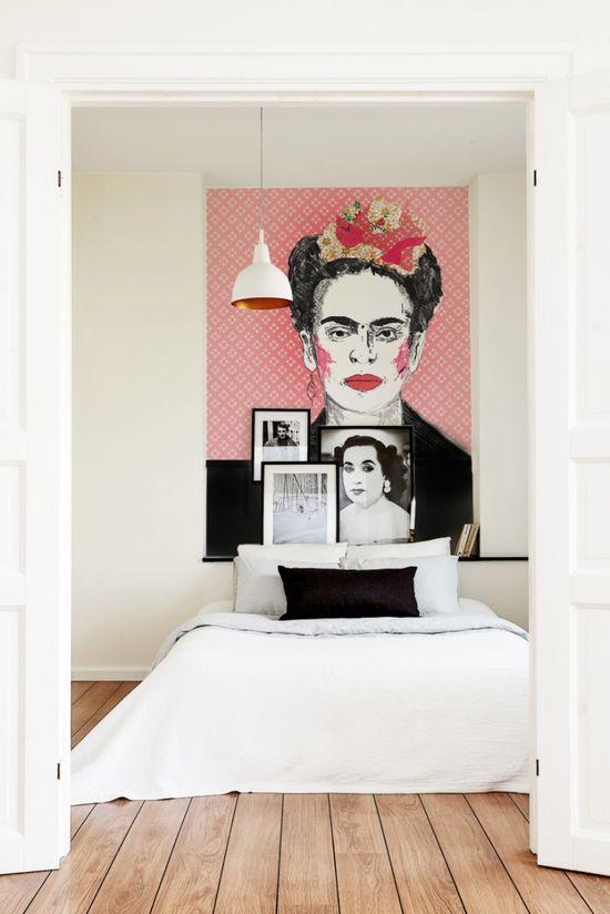 Beautiful interior murals. #bedroom #art #InteriorDesign #Design