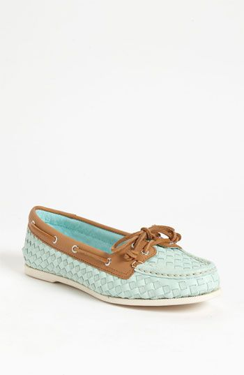 Mint & Shoe Heaven: Sperry Top-Sider Audrey Boat Shoe, a Nordstrom Exclusive