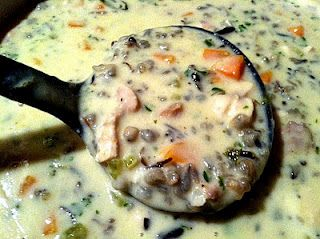Crockpot Turkey and Wild Rice Soup (Great for Thanksgiving Leftovers!)