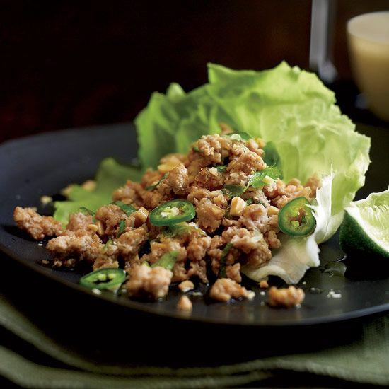 Thai Ground Pork Salad // More Great Thai Recipes: www.foodandwine.c... #foodandwine