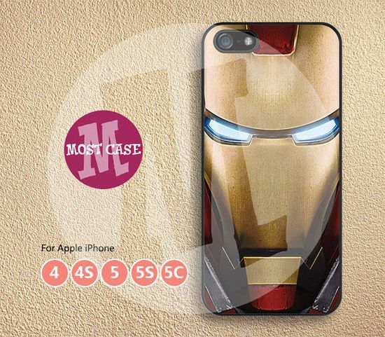 Iron Man iPhone 5 case cool iPhone 5s case iPhone 4s case iPhone 5c case iPhone 4 case movie iPhone case iPhone covers MT-221