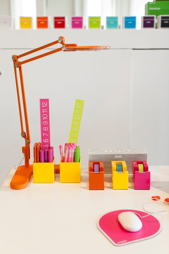Colorful Office Supplies? Yes, please!