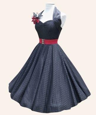50's style dresses.