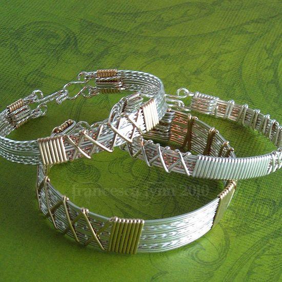 JEWELRY TUTORIAL    Classic Wire Wrapped Bracelets