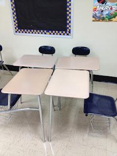 Classroom Desk Arrangement