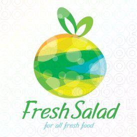 Fresh #Fruit #Salad logo