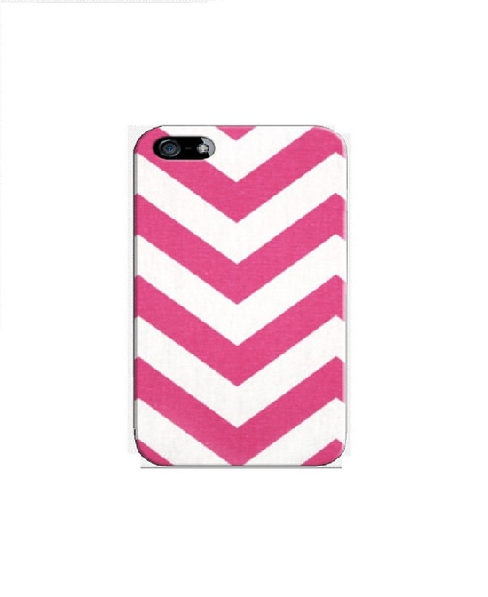 Pink Personalized Chevron Zigzag  iphone case iPhone by StyleCase, $9.99
