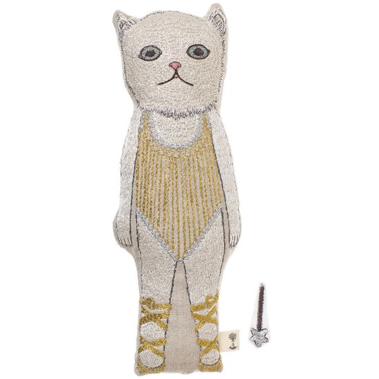 baby cat doll-coral and tusk