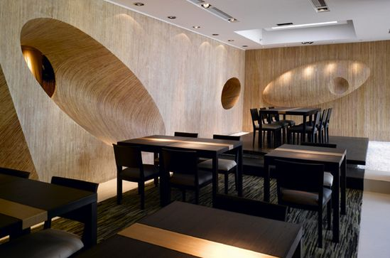 Interior Japanese Restaurant Interior Design Image